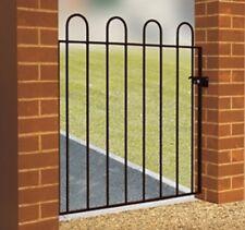 WROUGHT IRON METAL GARDEN SIDE GATE Richmond 2ft6-3ft4