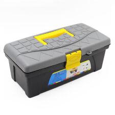 "12.5"" Plastic 2 Layers Multipurpose Hardware Tool Box Storage Organizer Case"