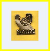 Pin's lapel pin Pins ADHOC Capitaine  ZAMAC SUCCES