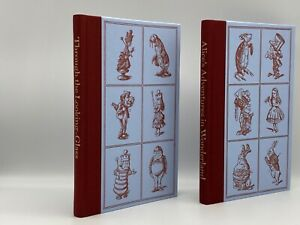 Folio Society ALICE IN WONDERLAND Through the Looking Glass COLLECTOR'S Edition