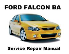 FALCON BA FAIRMONT FUTURA Auto Owners Workshop Service Repair Manual PDF CD-R