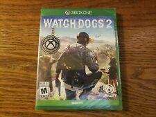 Watch Dogs 2 (Microsoft Xbox One, 2016)  *SEALED *