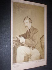Cdv old photograph actor Edward Askew Sothern by Hering london c1860s