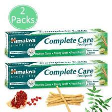 2 x Himalaya Herbals Complete Care Toothpaste 80g  Vegan Neem Miswak & Triphala