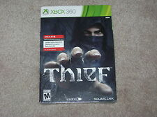 THIEF LIMITED EDITION STEEL BOOK...XBOX 360...**SEALED**BRAND NEW**!!!!!