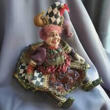 Rare retired Katherine's collection EULA Jester doll by Wayne Kleski USED