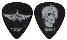 WARRANT Guitar Pick : 2000s Tour Robert Mason black