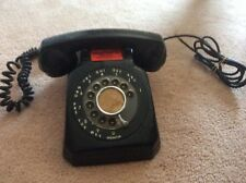 VINTAGE STROMBERG-CARLSON BLACK ROTARY MODULAR DESK PHONE  Collectible