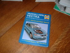 VAUXHALL/OPEL VECTRA HAYNES WORKSHOP MANUAL. 1999 TO 2002. T REGISTRATION ON.
