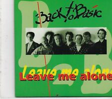 Back To Basic-Leave Me Alone cd single