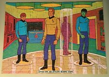 "Vintage Star Trek Puzzle, 150 Pieces, 10"" X 14"", Complete - Beaming Down 1974"