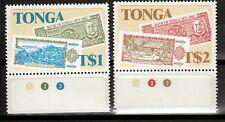 Tonga 859-60 **, 10 Jahre Bank in Tonga