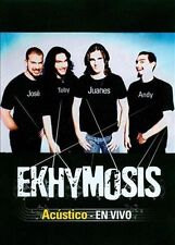 Ekhymosis- Acustico Y En Vivo (DVD, 2010) sealed
