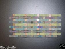 Weave Georgette Aqua, Blue, Green, Backsplash Glass tile
