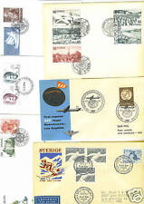 Sweden-Topicals 1950's-90's Collection Of 19 Fdc's