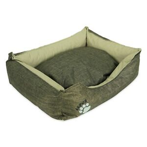 Outdoor Dog Bed for Dogs - Durable Waterproof Sofa Dog Bed with Sides