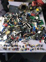 13 Lbs Legos Mega Blok Lot 39 Mini Figs  Large Lot