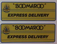 Boomaroo Express Delivery  Decals Set Of 2 Collectable Toy Sticker Wyn Toy