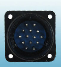 14 Pin Panel Mount Plug,inlet, for Miller,lincoln,Hobart welding machine