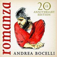 ANDREA BOCELLI ROMANZA CD: 20th ANNIVERSARY EDITION 2016 Remastered  SEALED Y7