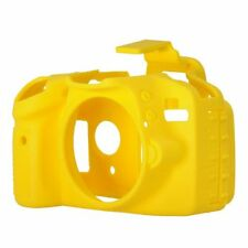 Easy Cover Nikon D 3300 D3300 D 3400 D3400 Camera Silicone Skin Case Yellow