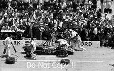 Jim Clark Lotus Ford 38/1 Winner Indianapolis 500 1965 Photograph 1