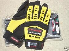 Small Yellow SNAP-ON AUTOMOTIVE SUPER GRIP WORK Mechanic Motorcycle Bike GLOVES