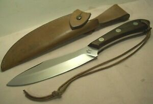 1964~GROHMANN KNIVES~RUSSELL BELT KNIFE~SUPERIOR QUALITY CANADIAN HUNTING KNIFE~