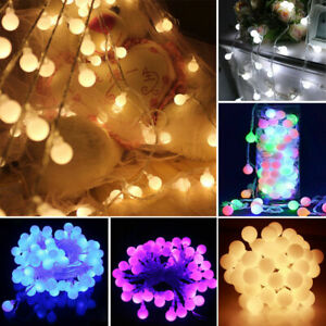 BERRY LIGHTS SUPER BRIGHT LED BALL SHAPE ROUND FAIRY TIMER/MEMORY 100/200/500