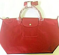 AUTH Longchamp Le Pliage Neo Top Handle with Strap