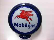 MOBILGAS MOBIL PREMIUM REPRODUCTION PETROL BOWSER GLOBE LIGHT
