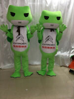 Frogs Mascot Costume Cosplay Party Game Dress Outfit Advertising Halloween Adult