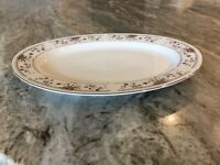 "Claremont by Sone Fine Porcelain China 12"" OVAL SERVING PLATTER, Japan"