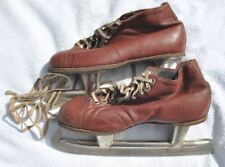 1960s Ussr Soviet Russia Pair of Skates Ice Skating Good Condition 37 size