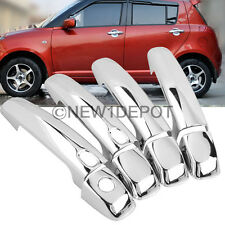 Chrome Side Door Handle Cover Trim Fit Suzuki SX4 Grand Vitara Swift Kizashi ND