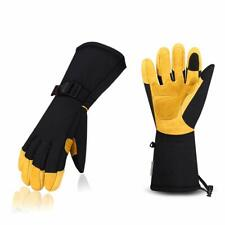 WINTER GLOVES COWHIDE LEATHER PALM & 3M THINSULATE SIZE LARGE - NEW