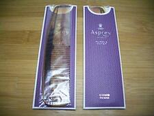 Set of 2 NEW Asprey London Purple Water Collection Tortoise Shell Design Combs