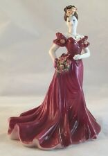 Vintage Bone China Coalport Figurine Ladies of Fashion Jenny by Jack Glynn