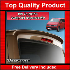 VW T6 CARAVELLE 2015+ TAILGATE REAR SPOILER ABS OEM QUALITY NOT CHEAP FIBREGLASS