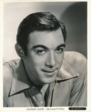 ANTHONY QUINN Original Vintage 1930s GENE KORNMAN Fox Studio Portrait Photo