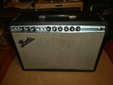Beautiful Vintage 1971 Fender Silverface Deluxe Reverb tube amplifier Exc 9/10