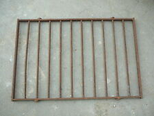 "ANTIQUE VINTAGE IRON WINDOW DOOR SECURITY BARS  21-3/4"" x 14-3/8"" - DECOR or USE"