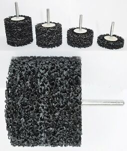 GROBREINIGUNGSCHEIBE EXTRA COARSE ENTROSTER ABRASIV SCHRUPPSCHEIBE 6mm Schaft