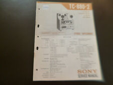 Original Service Manual Schaltplan Sony TC-888-2