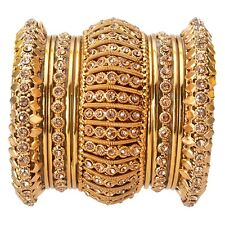 Indian Bangle Gold Plated Jodha Akbar Bollywood Fashion 13 Pieces Bridal Jewelry