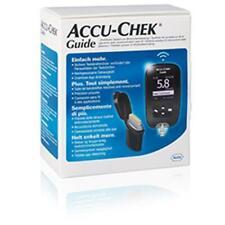 Accu-Chek Guide GLUCOMETRO MISURATORE GLICEMIA MACCHINETTA + PUNGIDITO FASTCLIX