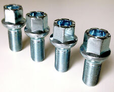4 x wheel bolts nuts lugs M14 x 1.5 17mm Hex 27mm thread Radius seat. VW