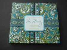 "NEW VERA BRADLEY Duly Noted Desk Set Address Calendar Note Pad ""Peacock"""
