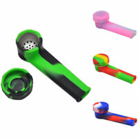 Portable Multi Silicone Tobacco Pipes Smoking Pipes VS Metal Water Pipes New