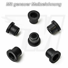 6x Kunststoff Tülle für viele BMW Logo Embleme | 51141807495